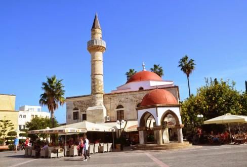 Defterdar Camii in Kos, Greece