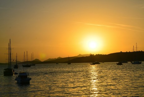 Sunset in Bodrum, Turkey