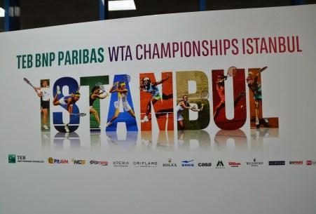 2012 WTA Championships at the Sinan Erdem Spor Salonu in Bakırköy, Istanbul, Turkey
