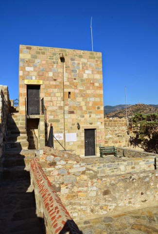 Commander's Tower at the Castle of St. Peter in Bodrum, Turkey