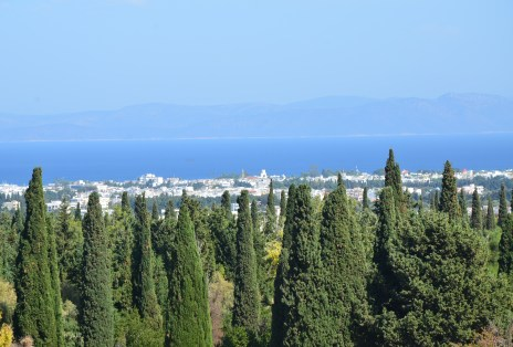 View of Kos from the Asklepeion of Kos, Greece