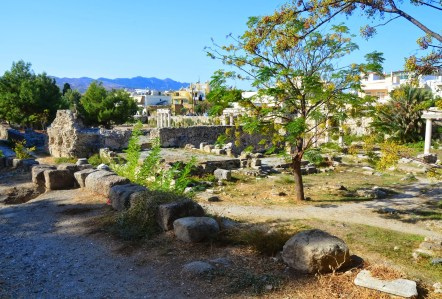 Western Excavation Area in Kos, Greece