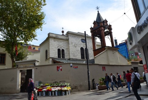 Surp Takavor Armenian Orthodox Church in Kadıköy, Istanbul, Turkey
