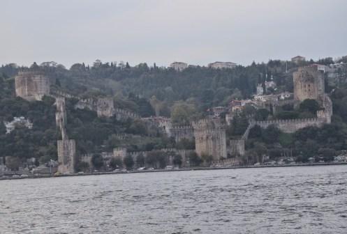 View of Rumeli Hisarı in Istanbul, Turkey