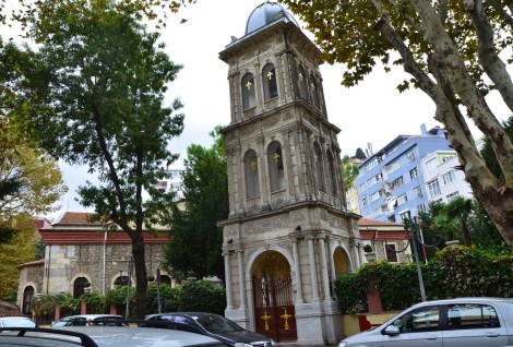 Agios Panteleimon Greek Orthodox Church in Kuzguncuk, Istanbul, Turkey