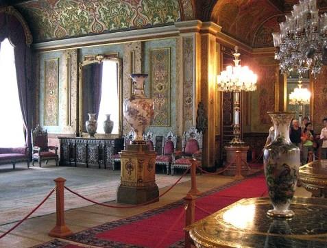 Palace interior Photo © 2007 by Anton Lefterov at Beylerbeyi Sarayı in Beylerbeyi, Istanbul, Turkey