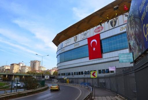 Şükrü Saracoğlu Stadyumu in Kadıköy, Istanbul, Turkey