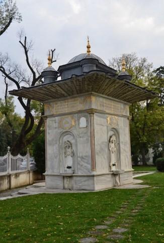 Mihrişah Valide Sultan Çeşmesi at Küçüksu Kasrı in Istanbul, Turkey