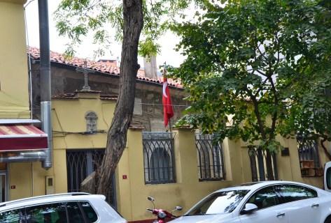 Agios Georgios Greek Orthodox Church in Kuzguncuk, Istanbul, Turkey