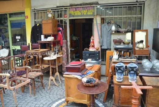 Antique store in Üsküdar, Istanbul, Turkey