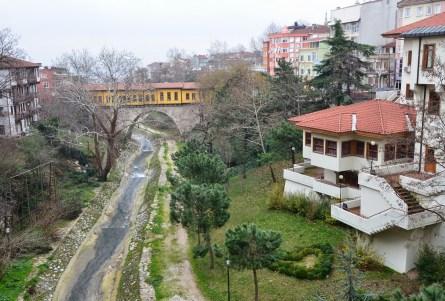 Irgandı Köprüsü in Bursa, Turkey