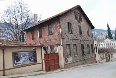 Old tobacco factory at Tophane, Bursa, Turkey