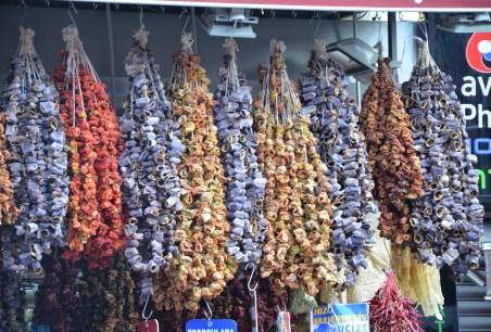 Spices in Üsküdar, Istanbul, Turkey