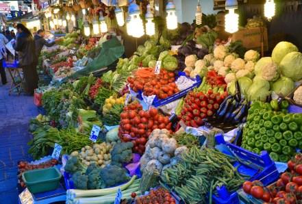 Vegetables in Üsküdar, Istanbul, Turkey