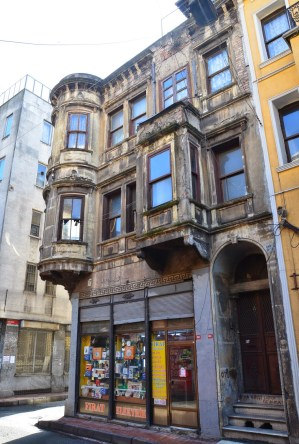Ottoman Greek building in Kumkapı, Fatih, Istanbul, Turkey