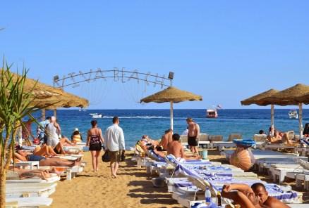 Viva Beach – Aida 2 Hotel's Beach in Na'ama Bay, Sharm el-Sheikh, Egypt