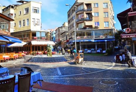 Kumkapı Meydanı in Kumkapı, Fatih, Istanbul, Turkey