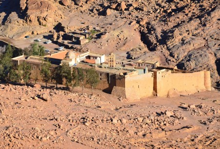 St. Catherine's Monastery in Sinai, Egypt