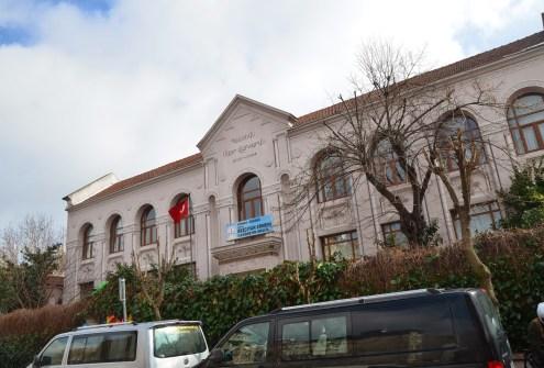 Bezciyan Armenian School in Kumkapı, Fatih, Istanbul, Turkey