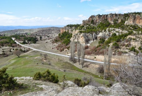 Midas City in the Phrygian Valley, Turkey