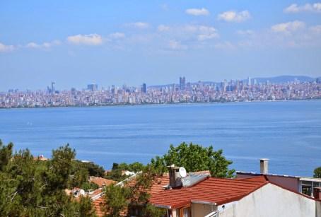 View from Kınalıada, Adalar, Istanbul, Turkey