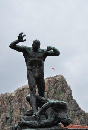 Zafer Anıtı in Afyon, Turkey