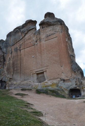Midas Monument in the Phrygian Valley, Turkey