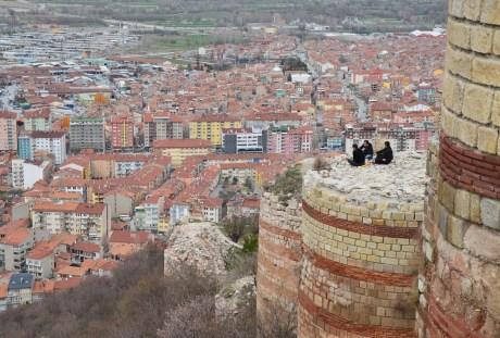 Kütahya Kalesi in Kütahya, Turkey