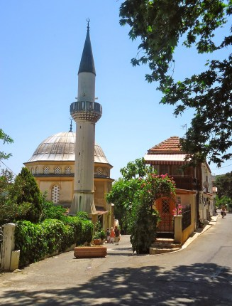 Mosque on Burgazada, Adalar, Istanbul, Turkey