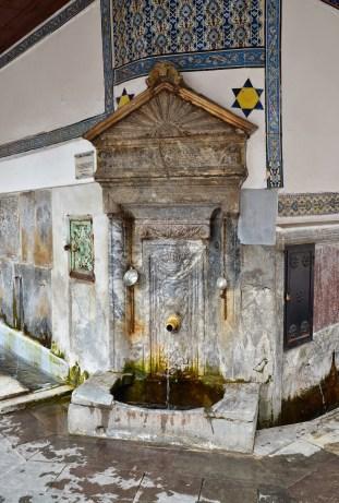 Şadırvan at Ulu Camii in Kütahya, Turkey