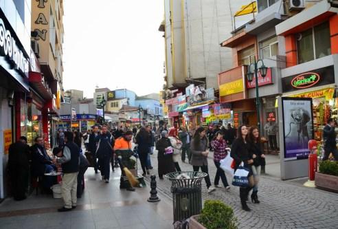 Köprübaşı Caddesi in Eskişehir, Turkey