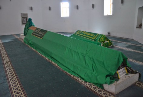 Tomb of Seyit Battal Gazi and Elenora at Seyit Battal Gazi Külliyesi in Seyitgazi, Turkey