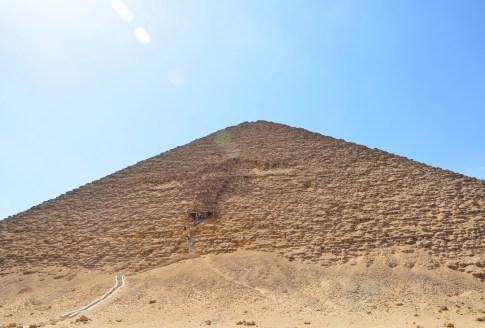 Red Pyramid in Dahshur, Egypt