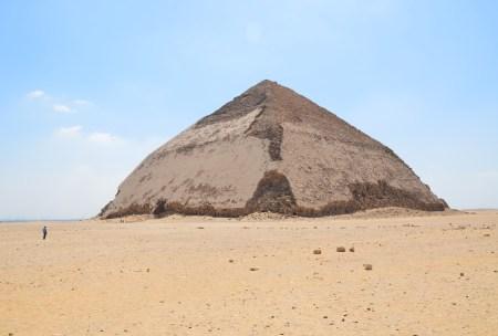 Bent Pyramid in Dahshur, Egypt