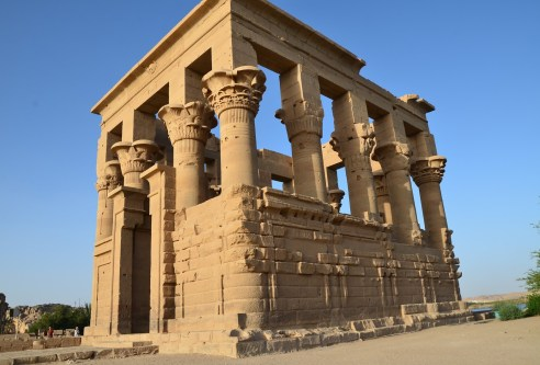 Temple of Trajan at Philae Temple on Agilkia Island, Egypt