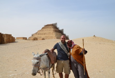 I didn't want to take this picture at Saqqara, Egypt