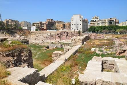 Kom el-Dikka in Alexandria, Egypt