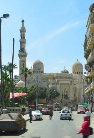 El-Mursi Abu el-Abbas Mosque in Alexandria, Egypt