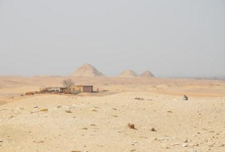 Pyramids of Pepi I, Pepi II, and Merenre at Saqqara, Egypt