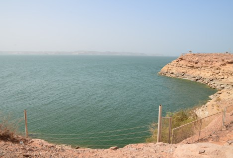 Lake Nasser at Abu Simbel, Egypt