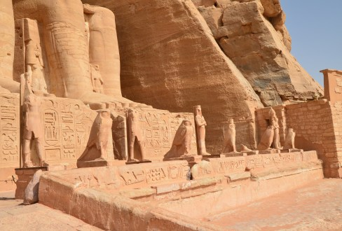 Temple of Ramses II at Abu Simbel, Egypt