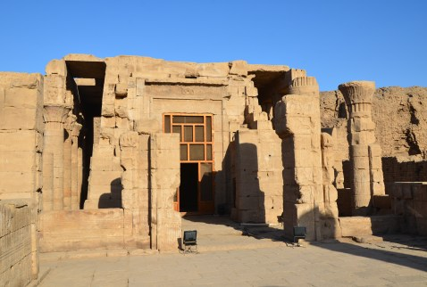 Outer temple at the Temple of Edfu, Egypt