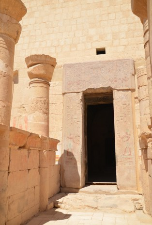 Shrine of Amon at the Temple of Hatshepsut in Luxor, Egypt