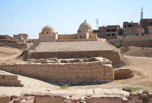 Mosque at Karnak Temple in Luxor, Egypt