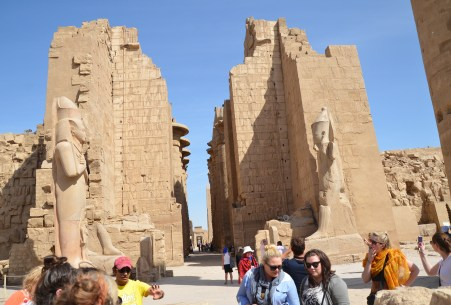 Precinct of Amon-Ra at Karnak Temple in Luxor, Egypt