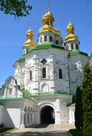 All Saints Church at Kiev Pechersk Lavra in Kiev, Ukraine