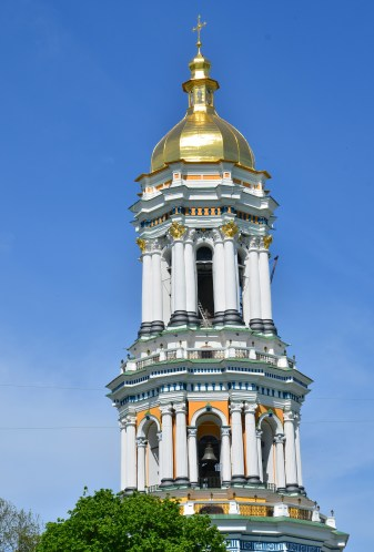 Great Lavra Bell Tower at Kiev Pechersk Lavra in Kiev, Ukraine