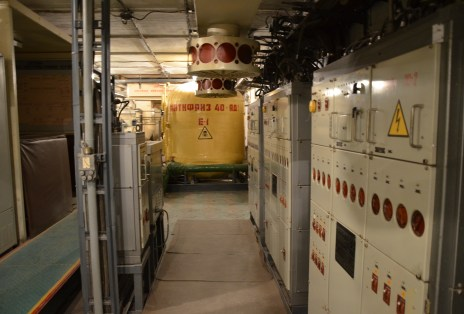Refrigeration facility at Strategic Missile Forces Museum near Pobuzke, Ukraine