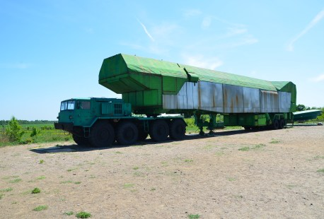 Loader MAZ-537 at Strategic Missile Forces Museum near Pobuzke, Ukraine