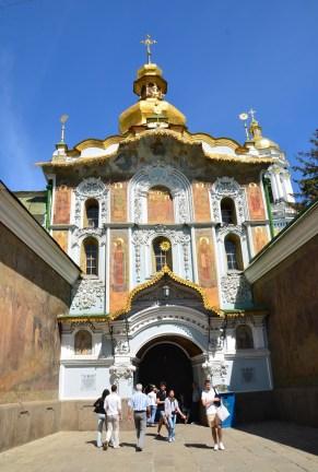 Trinity Gate Church at Kiev Pechersk Lavra in Kiev, Ukraine